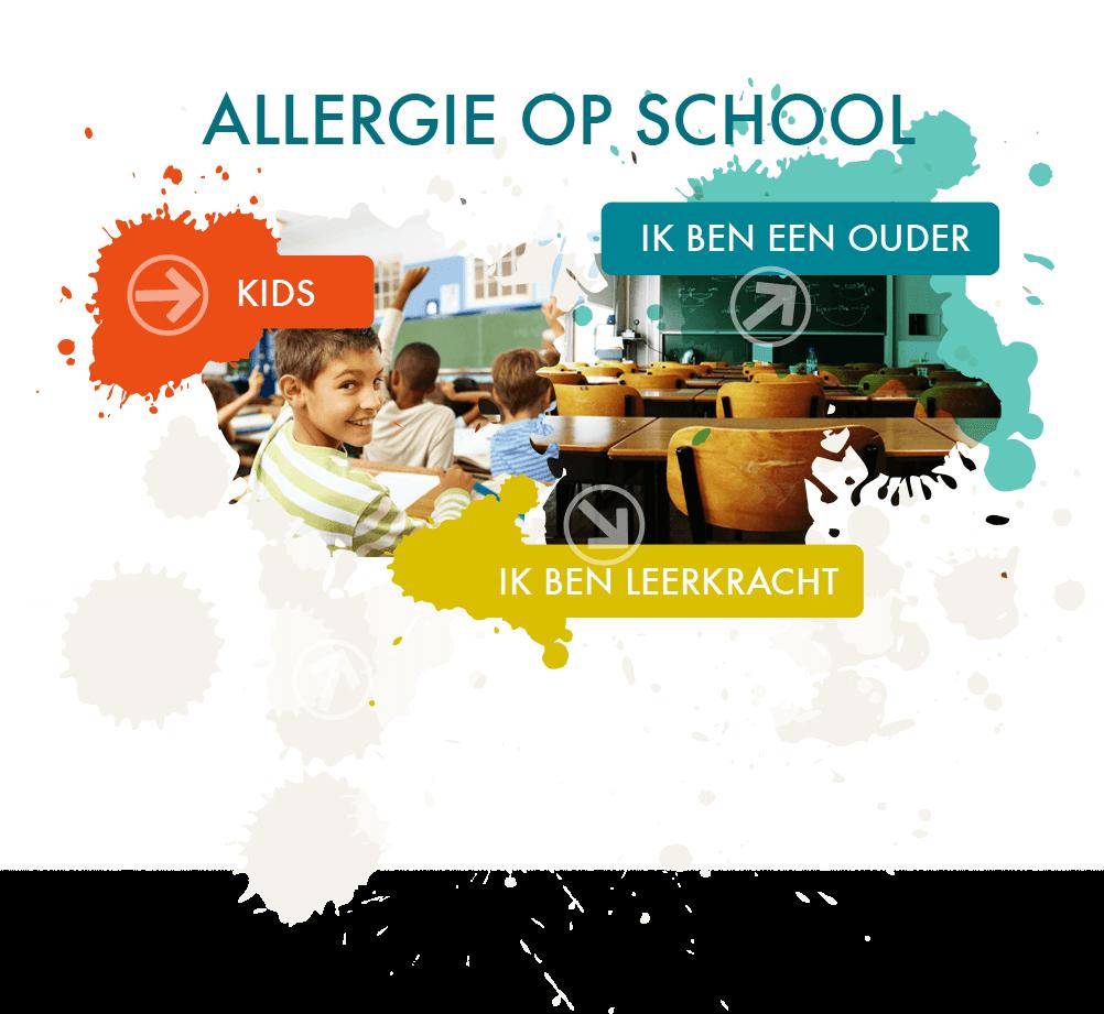 allergie op school ouders onderwijzend personeel kids
